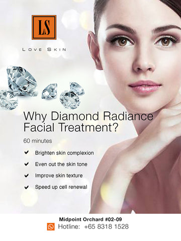 [S190005-60] Diamond Radiance Facial Treatment - Shine Bright Like a DIAMOND!