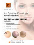 [S190004] Ice Dynamic Pulse Facial Light Treatment - TACKLE Acne, Pigments, Wrinkles and Uneven Skin Tone!
