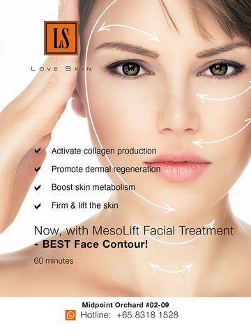 [S190017-60] MesoLift Facial Treatment with Smart Transdermal – BEST Face Contour!