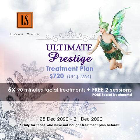 ULTIMATE PRESTIGE Treatment Plan - Total 8 sessions |  Valid for 6 months