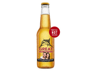GREAT NORTHERN SUPER CRISP 6 x 330ml Picture Label