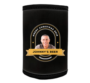 GENERIC Personalised Stubby Holder (24 or more units) with PICTURE and/or TEXT