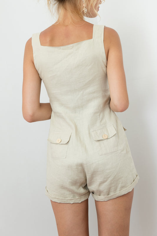 Bardot Playsuit