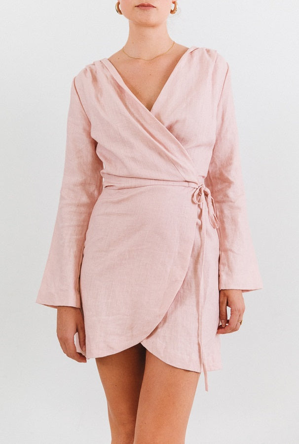 Fawcett Wrap Dress