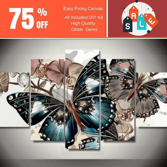 Butterflies 5D Diamond Painting