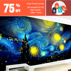 XXXL Special-shaped, Starry Night