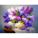 Wild Flowers Diamond Painting