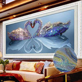 Crystal Swan Diamond Painting