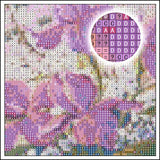 Blue Butterfly Diamond CrossStitch