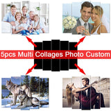 XXXL 5pcs Multi Picture  Custom Photo