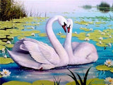 Magic Swan Diamond Painting