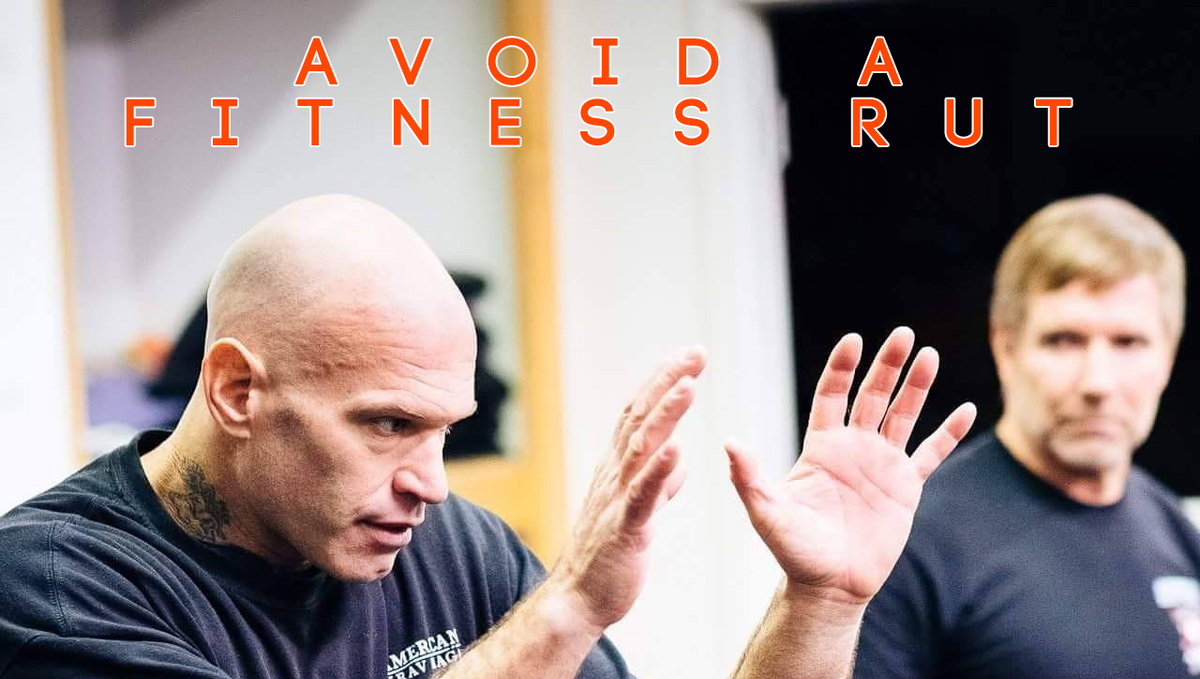 Avoid a Fitness Rut with American Krav Maga