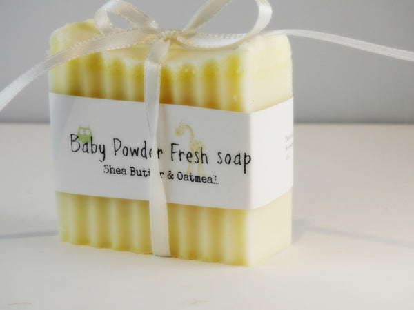Baby Powder scented Bar 4oz