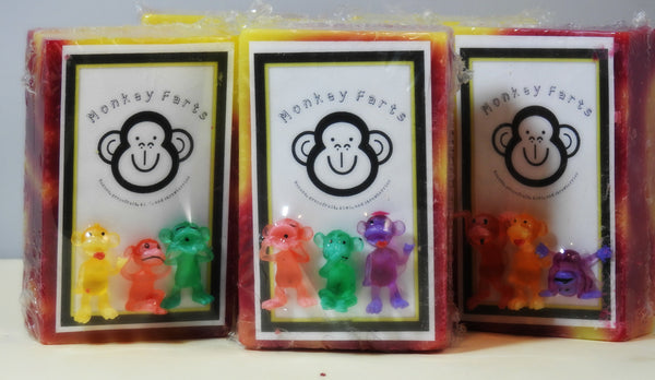 Monkey Farts Cold process Soap 5oz