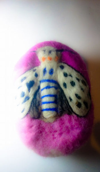 Felted Soap Moth