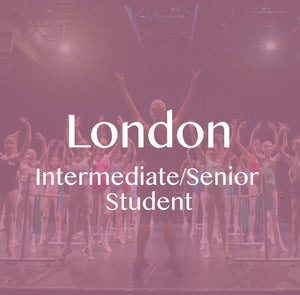 London 2019: Intermediate/Senior Student Ticket (Deposit) CLASS 1