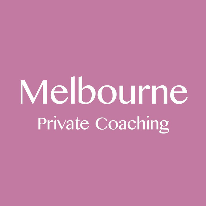 Melbourne 18/1/2019: Private Coaching Session