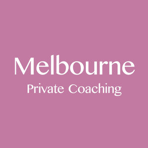 Melbourne 22/1/2019: Private Coaching Session