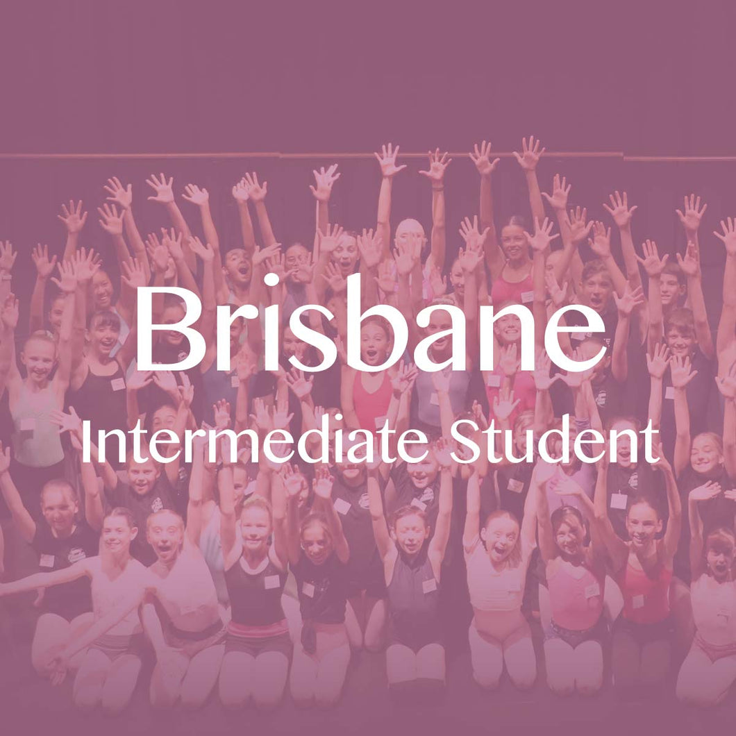 Brisbane 2019: Intermediate Student Ticket (Deposit)