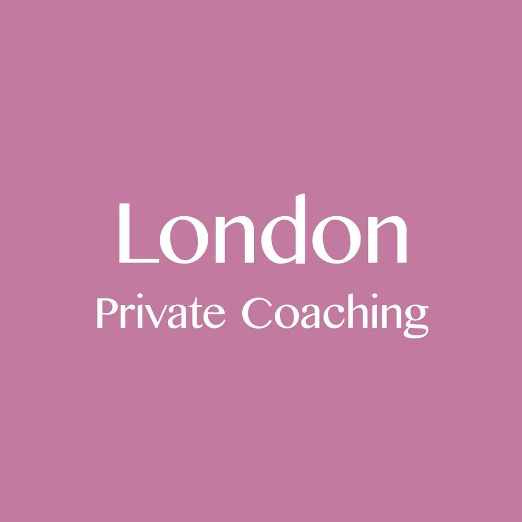 London: Private Coaching Session