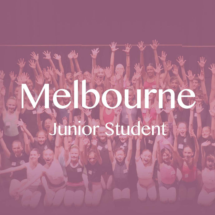Melbourne 2019: Junior Student Ticket (Balance)