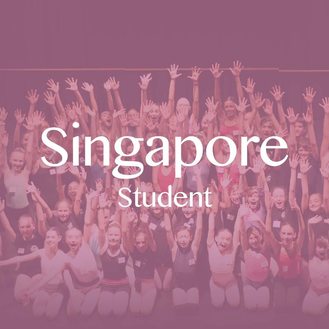 Singapore 2018: Student Ticket + Private Coaching Session (Balance)
