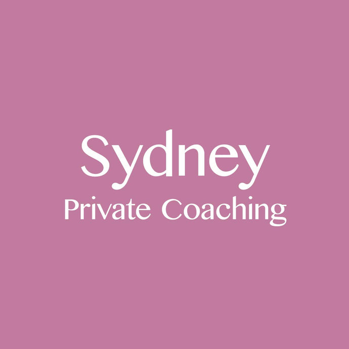 Sydney 8/10/2018: Private Coaching Session