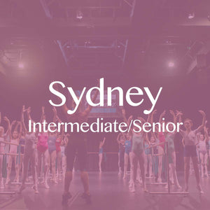 Sydney 2018: Intermediate/Senior Student Ticket + Private Coaching Session (Balance)