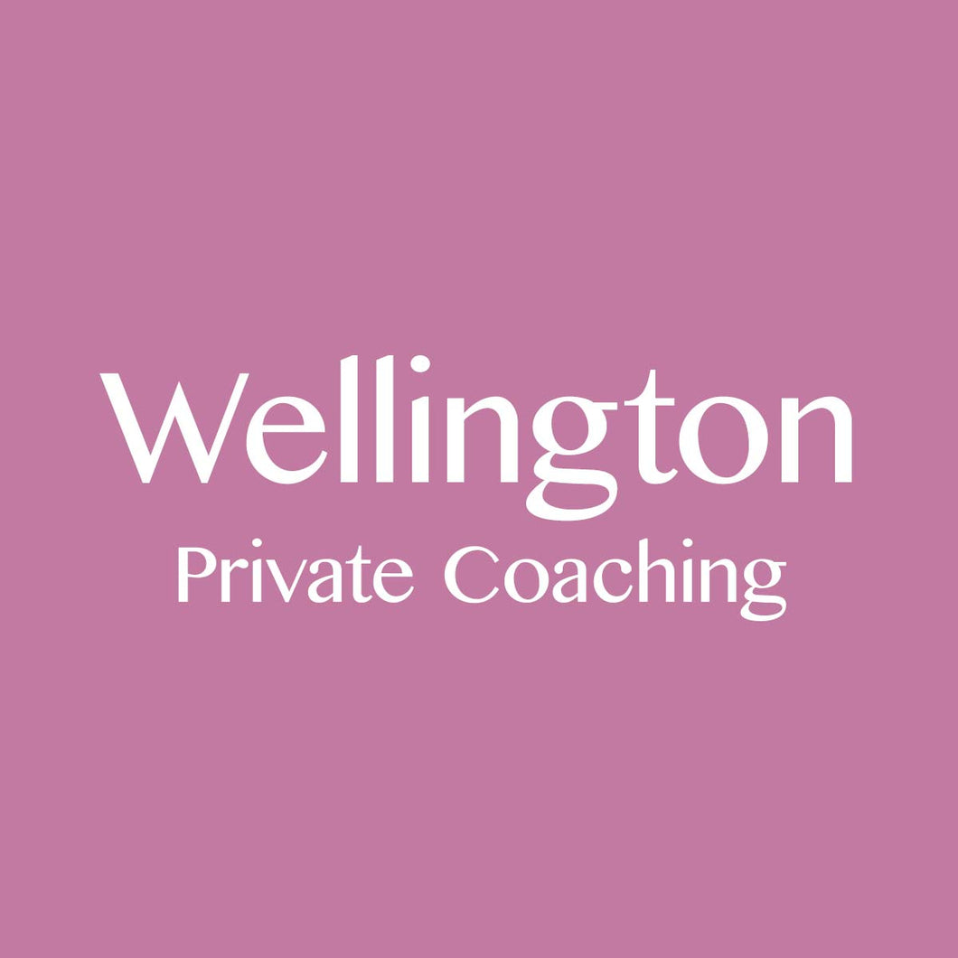 Wellington 9/1/2019: Private Coaching Session