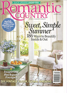 Hicks Family Featured in Romantic Country Spring/Summer Issue 2017
