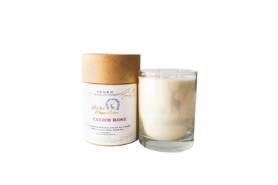 Calico Rose Double Wick Candle