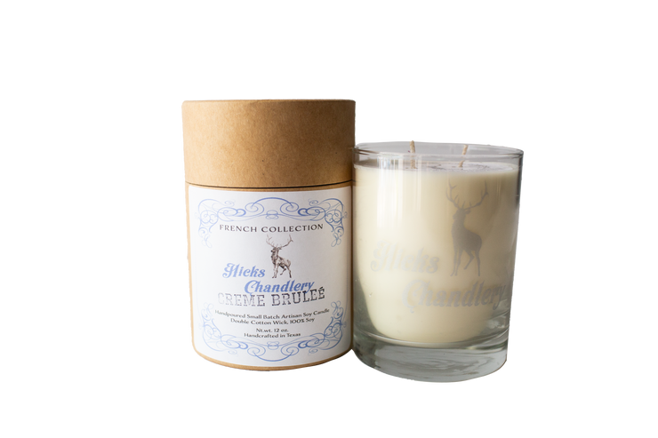 Creme Brulee Double Wick Candle