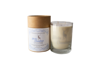 Lavande' Double Wick Candle