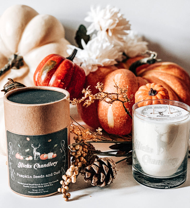 Pumpkin Seeds and Oud Special Edition Double Wick Candle