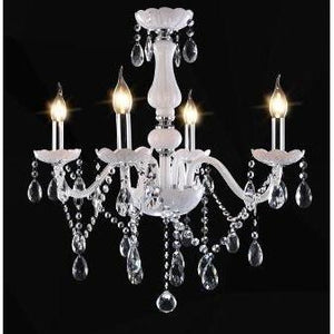 chandelier light fixtures. led white crystal chandelier lamp light ceiling fixture-eirhub fixtures