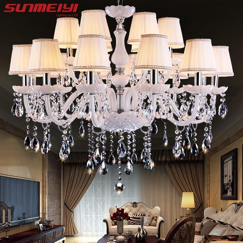 crystal crysal rectangular ceiling light foyer led sales item new chandelier chandeliers promotion mounted
