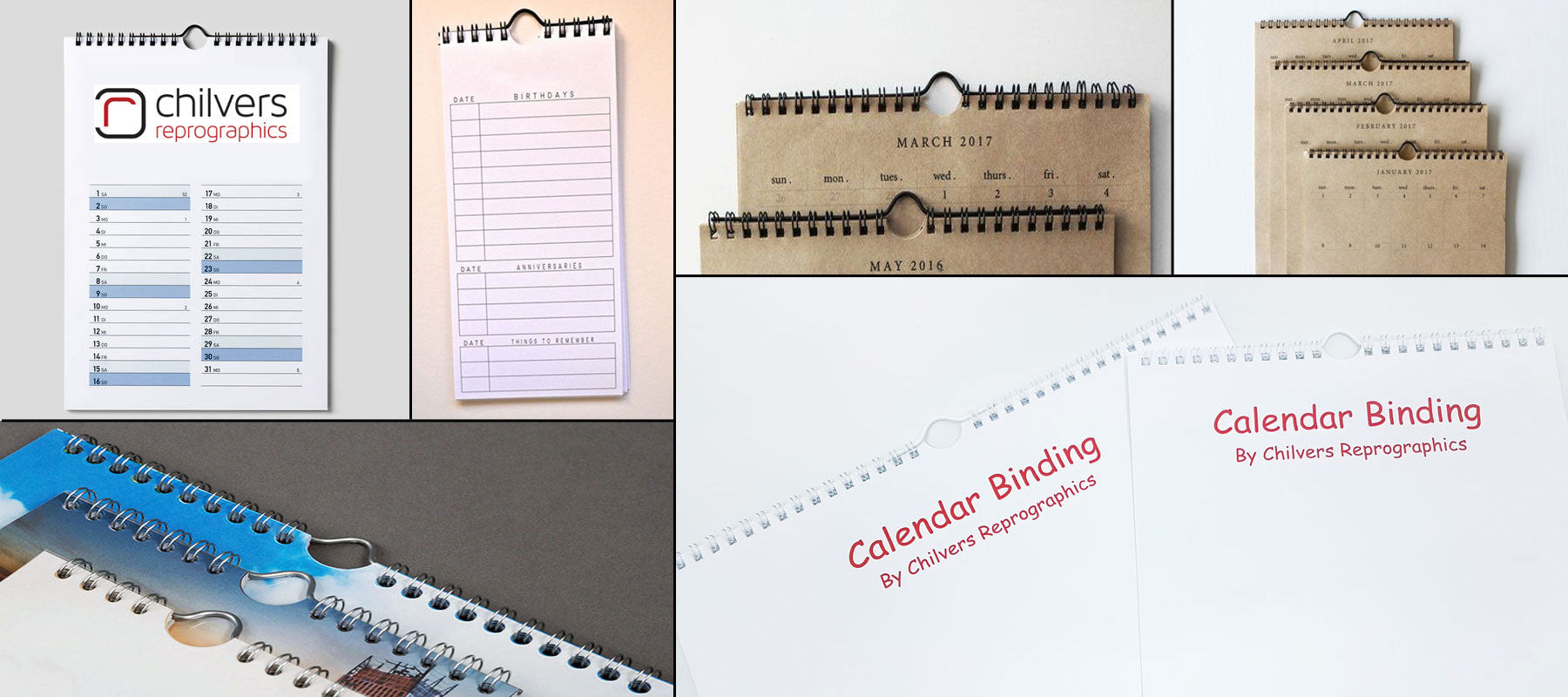 Calendar binding made easy.