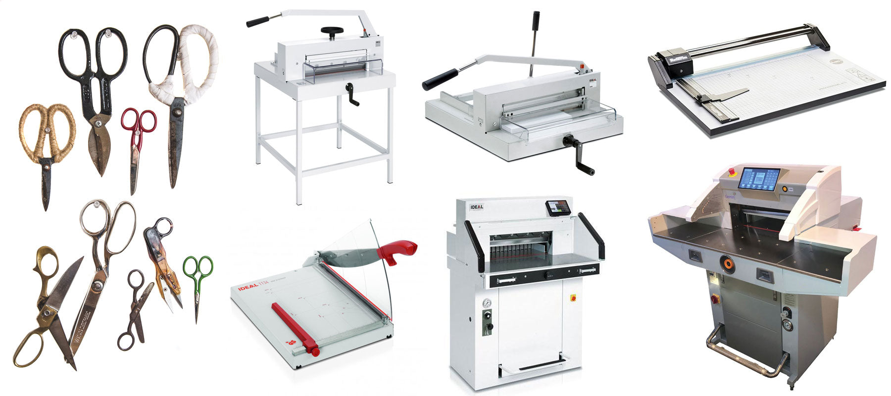Rotary Trimmers, Paper Trimmers & Guillotines....What's the difference?