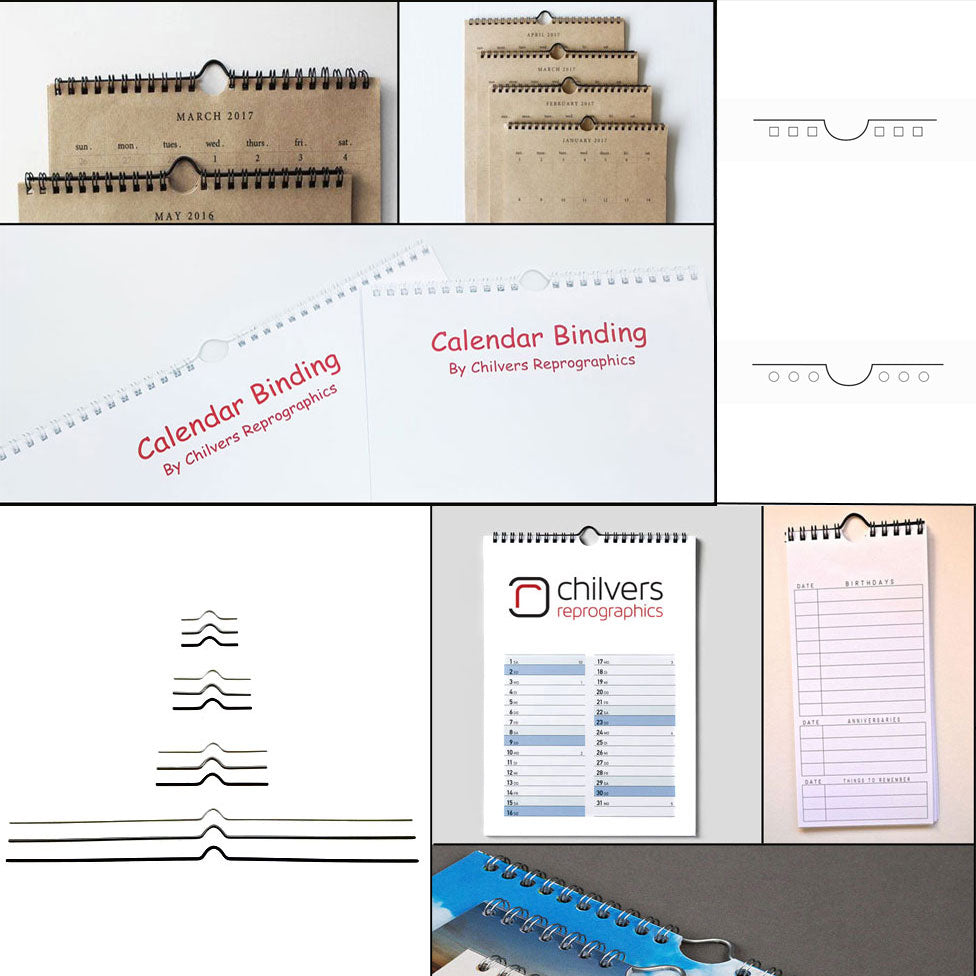 Calendar Binders & Packages