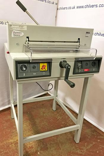 Used / Pre-owned Ideal 4215 Electric Guillotine