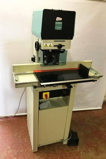 Used / Pre-owned Nagel 280AB Twin Hole Paper Drill