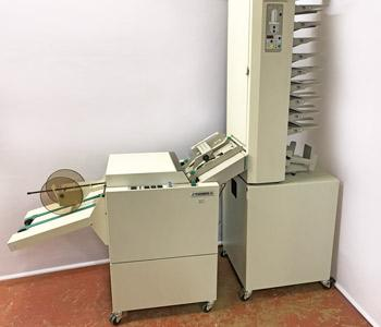 Used / Pre-owned Plockmatic 410 Collator + Plockmatic 61 Booklet Maker System