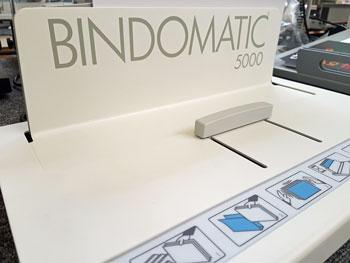 Used / Pre-owned Bindomatic 5000 Thermal Binder