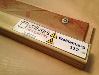 Wohlenberg, FL and Muro 112 HSS Guillotine Blade