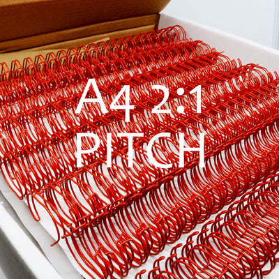 Binding Wires A4 2:1 Pitch