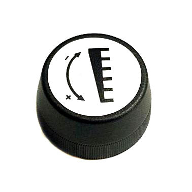Ideal back gauge control knob