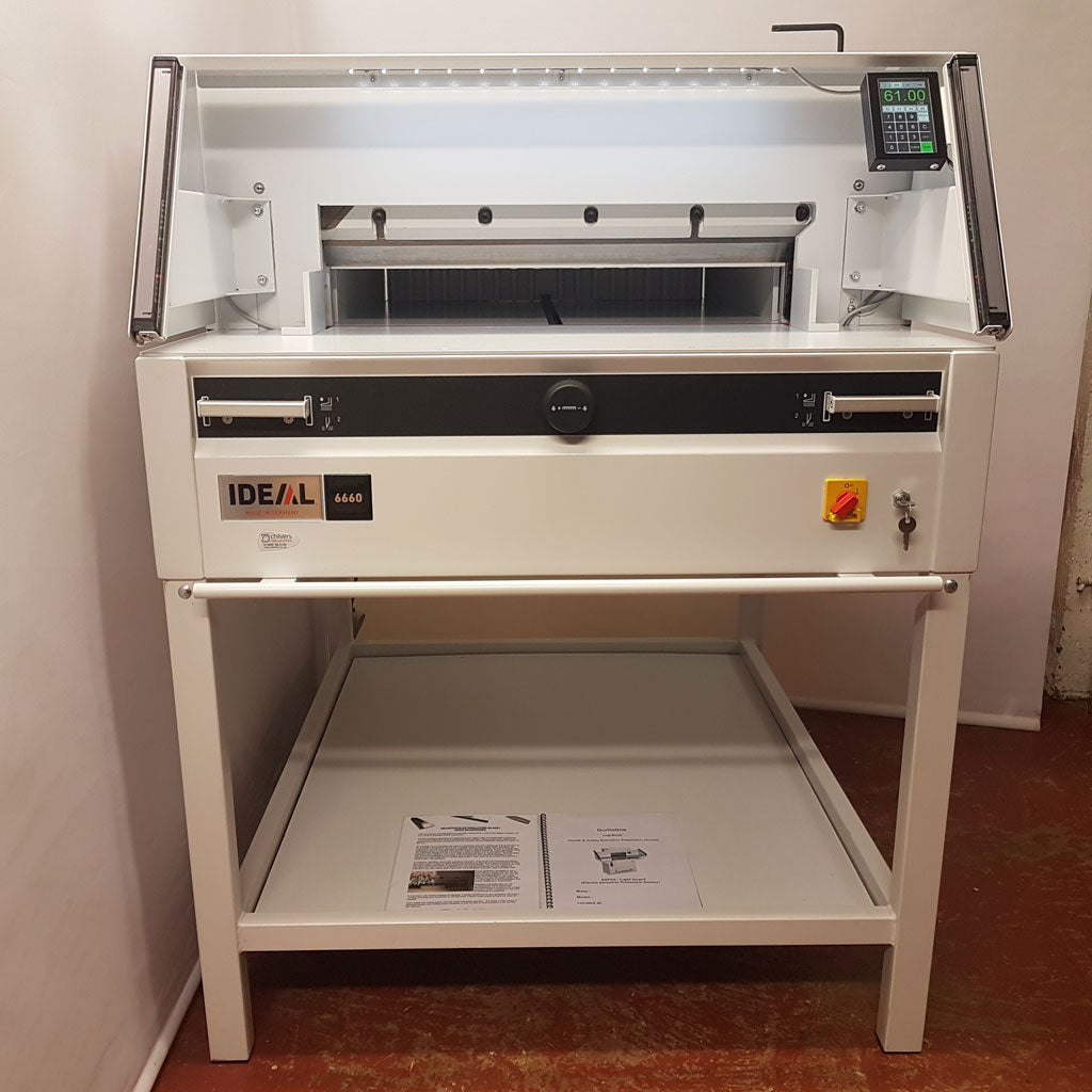 Used / Pre-owned Ideal 6660 Guillotine