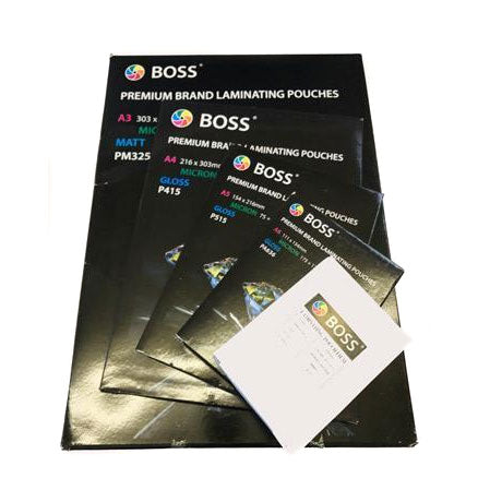 A2 Size (427 x 602mm) Laminating Pouches