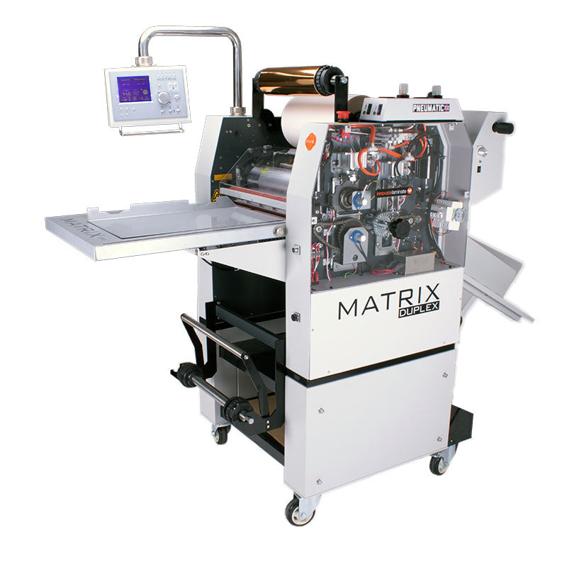 Matrix MX 530DP Duplex Pneumatic Laminator/Foiler
