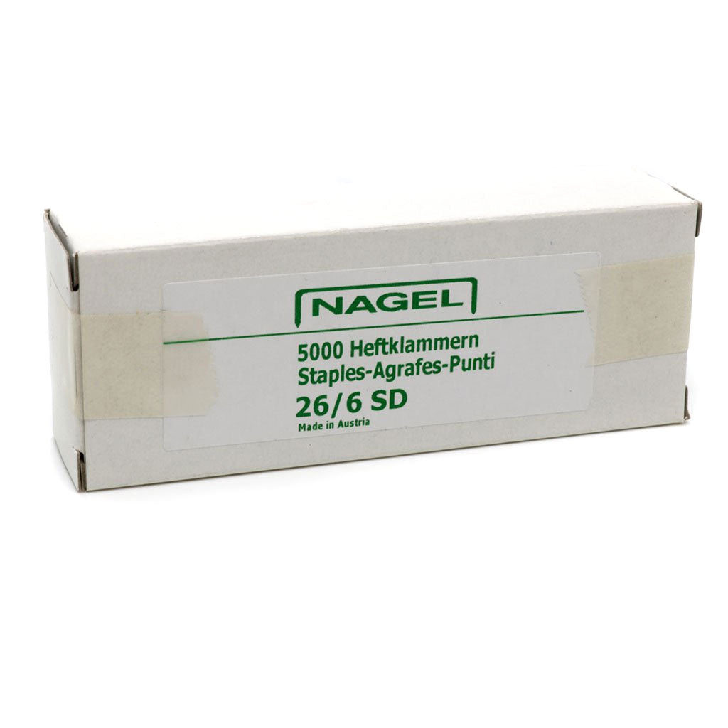 Nagel 26/6 Super Hard Chisel Point Staples